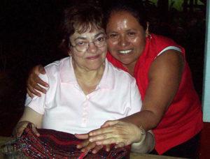 Liz DeSimone with Carmen