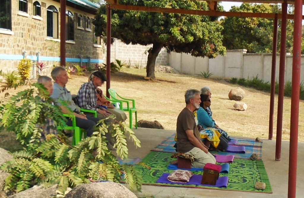 Ten Maryknoll missioners from nine countries and all four Maryknoll entities meditated in silence for six hours a day during their eight-day Contemplative Retreat.